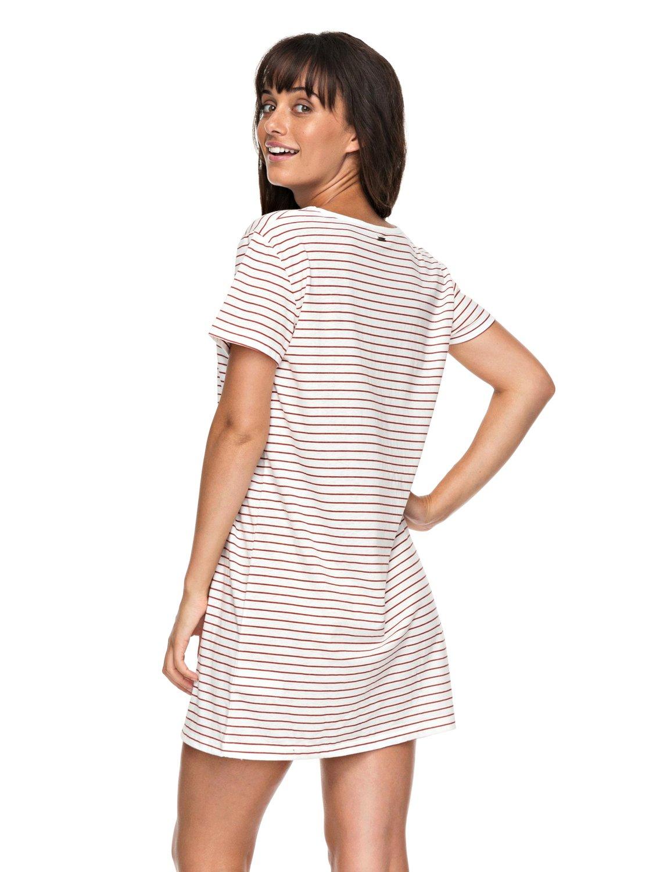 Just Simple Stripe T Shirt Dress For Women 3613373390721 Roxy