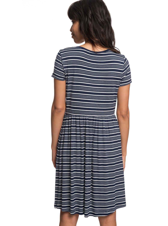 Fame For Glory Short Sleeve Dress 191274702315 Roxy