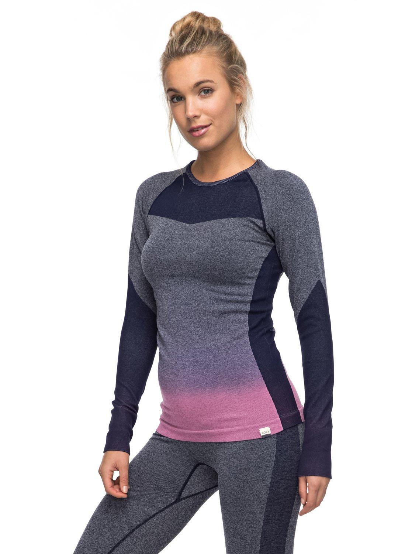 0 Passana - Tee Shirt de sport à manches longues pour Femme ERJKT03271 Roxy e2a14404996
