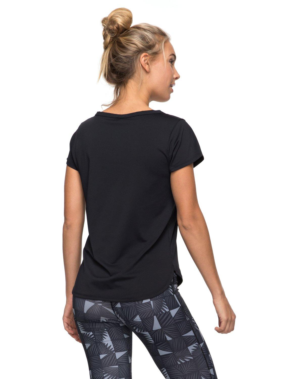 Roxy-Shiny-Way-T-shirt-de-sport-pour-Femme-ERJKT03297