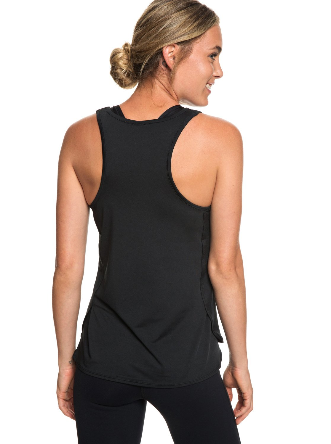1847583ab6c93f 3 Last Dance - Sports Vest Top for Women Black ERJKT03504 Roxy