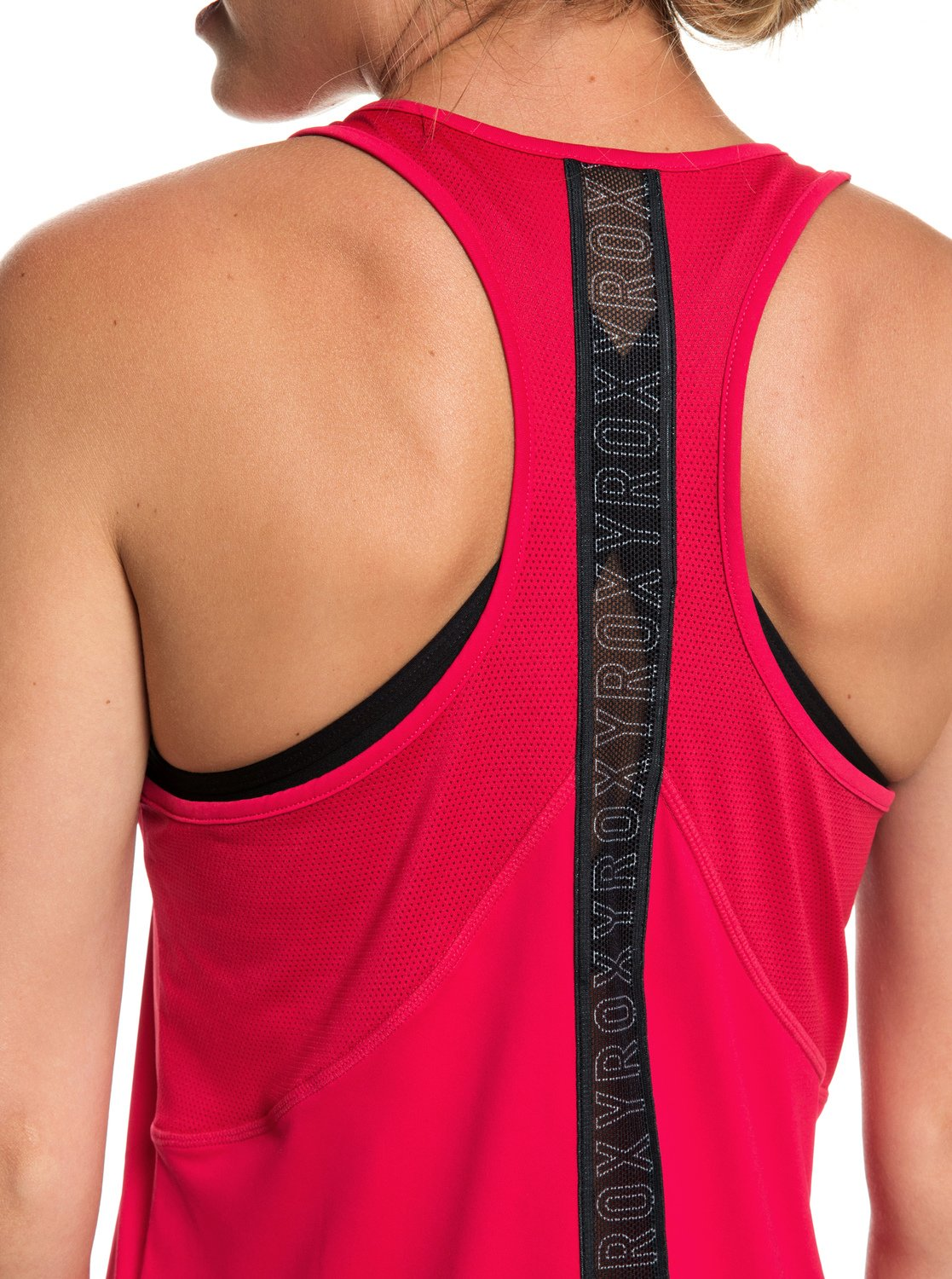 52874d9e5f2e78 3 Chasing Sunset - Racerback Running Vest Top for Women Pink ERJKT03505 Roxy