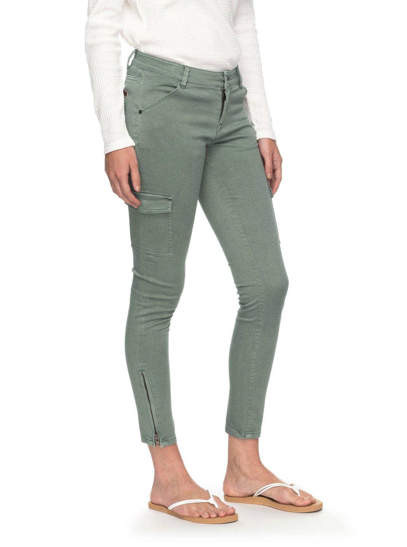 Roxy Skinny Baya Vestibilità Cargo Pantaloni Erjnp03160 XwOaYq