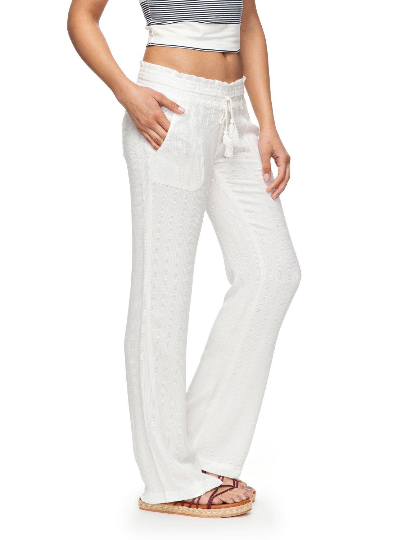 Oceanside Flared Linen Pants 191274327761 Roxy