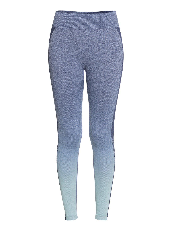 4 Passana 2 - Legging de sport pour Femme Bleu ERJNP03193 Roxy a16f92300cb
