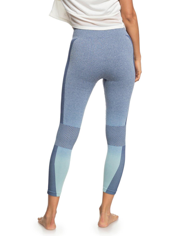 3 Passana 2 - Legging de sport pour Femme Bleu ERJNP03193 Roxy 6562b6a4d9f