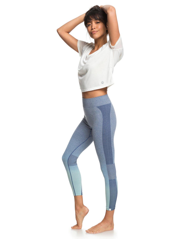 0 Passana 2 - Legging de sport pour Femme Bleu ERJNP03193 Roxy 4938669cd10