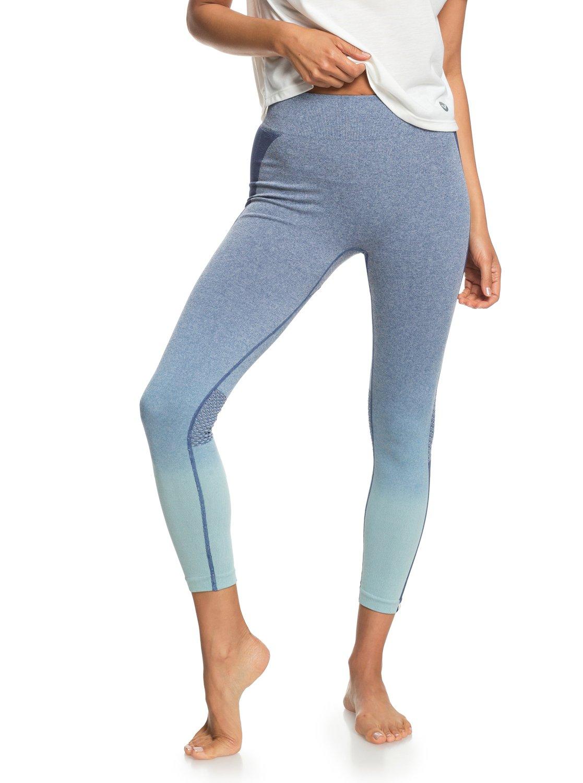 1 Passana 2 - Legging de sport pour Femme Bleu ERJNP03193 Roxy 88dc0042a2f