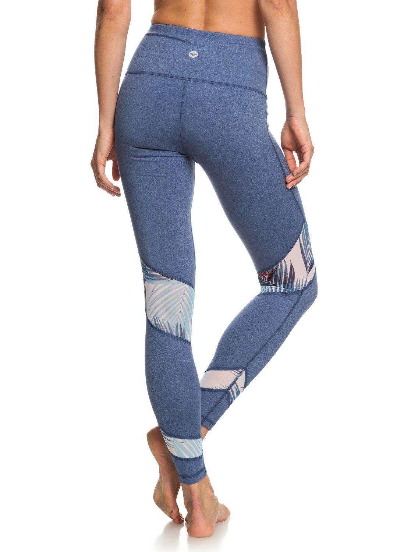 3 Diamond Hunter - Legging de sport pour Femme Bleu ERJNP03218 Roxy 33691dbf47d