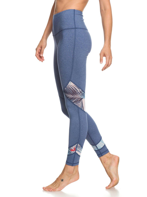 2 Diamond Hunter - Legging de sport pour Femme Bleu ERJNP03218 Roxy 06f7f7152e9