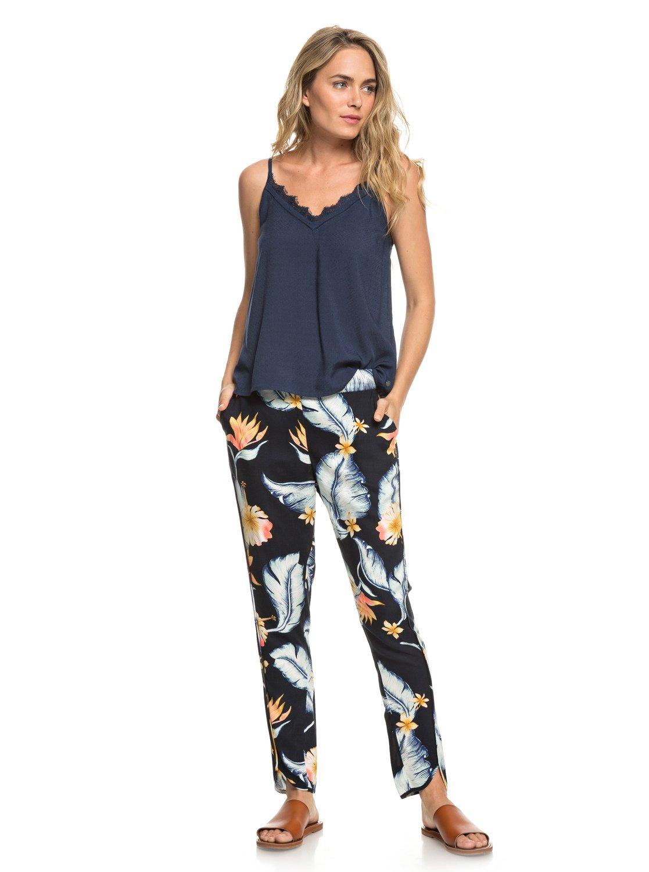 dcbbec1dfad75 0 Ocean Sailor - Viscose Trousers for Women Black ERJNP03221 Roxy