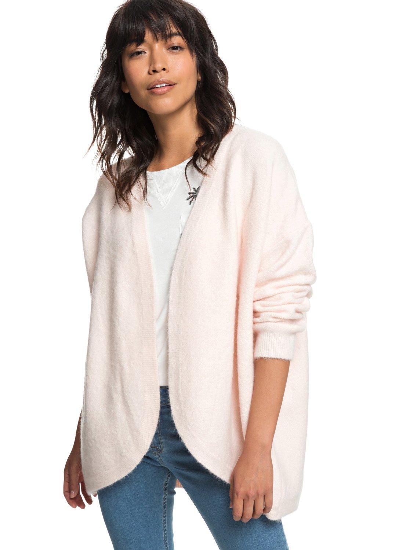 2 Delicate Mind - Cardigan for Women Pink ERJSW03325 Roxy 3dfedf224