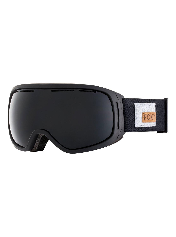 0a49985b88 0 Rockferry Snowboard Ski Goggles Black ERJTG03055 Roxy