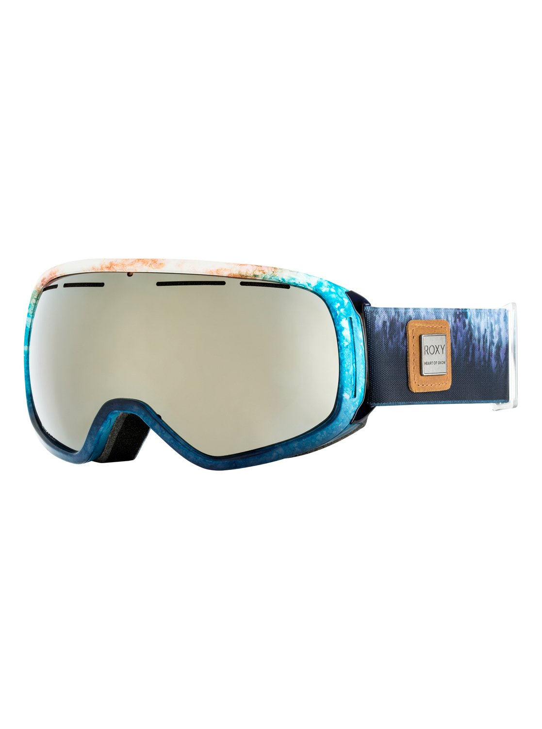 f6f7b97f5b 0 Rockferry - Ski Snowboard Goggles for Women White ERJTG03055 Roxy