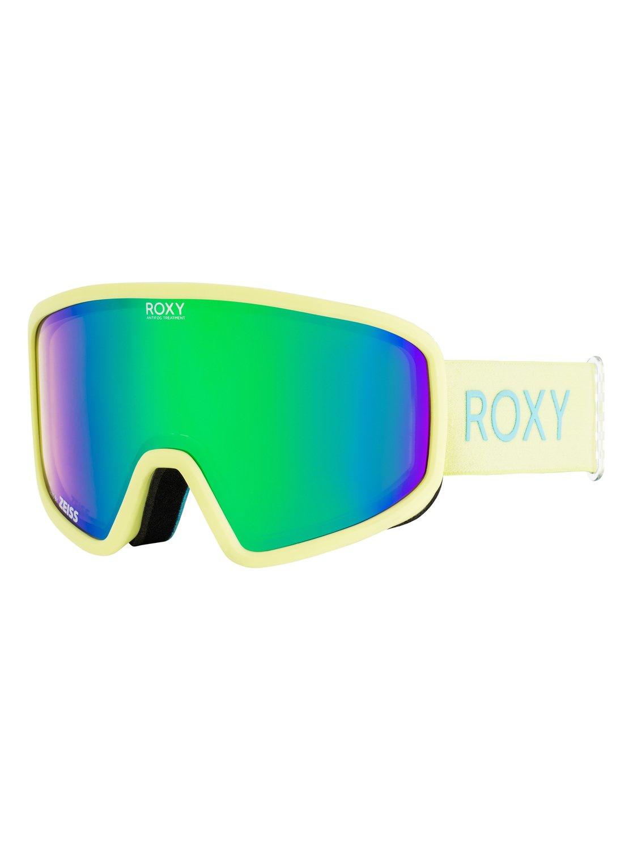 15618a1b1b979 0 Feenity - Ski Snowboard Goggles for Women Green ERJTG03061 Roxy