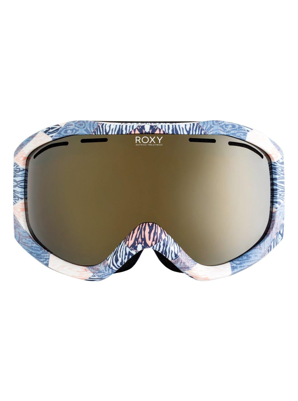 cb633143cab93 1 Sunset Art Series - Ski Snowboard Goggles for Women Blue ERJTG03065 Roxy