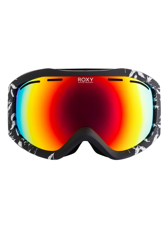 26b4c3faa3097 1 Sunset Art Series - Ski Snowboard Goggles for Women Black ERJTG03065 Roxy