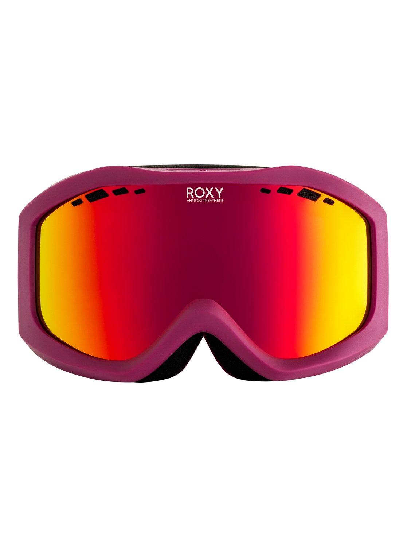 97728520bf90f 1 Sunset - Maschera da sci snowboard Green ERJTG03068 Roxy