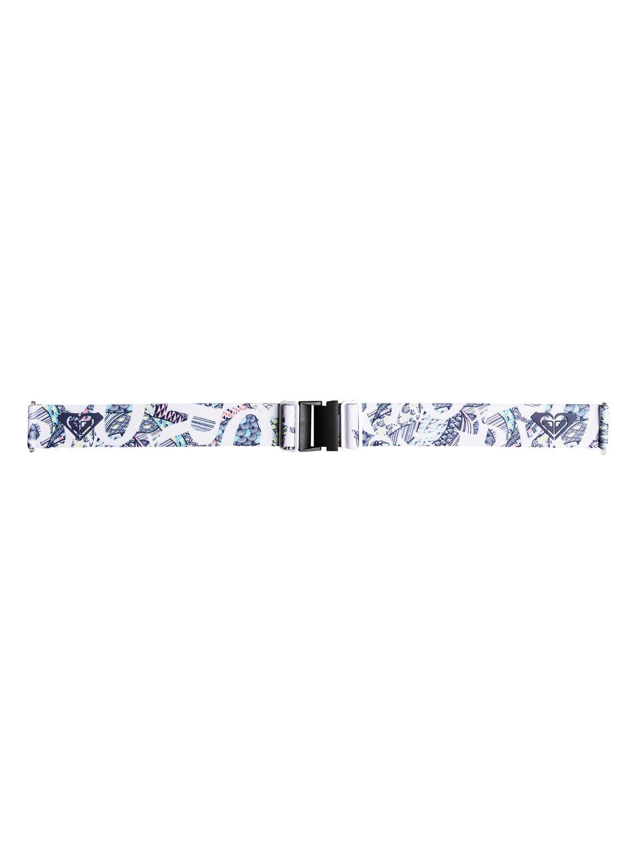73f139028154f 2 Sunset - Ski Snowboard Goggles for Women White ERJTG03068 Roxy