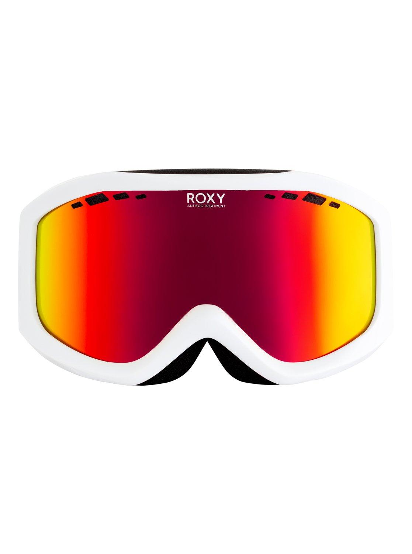dabf24f76172a 1 Sunset - Ski Snowboard Goggles for Women White ERJTG03068 Roxy