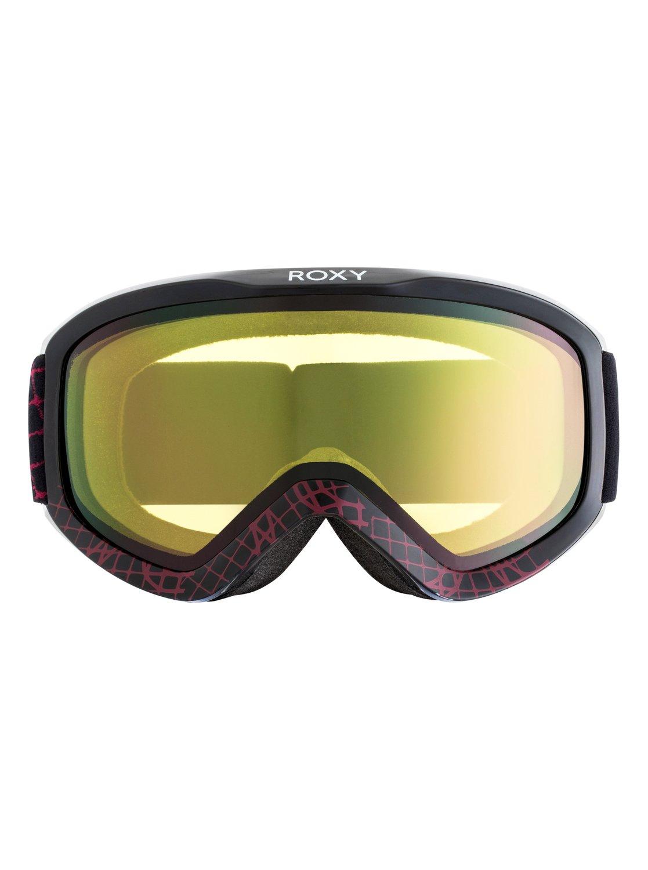c86d7486dd569 1 Day Dream Bad Weather - Ski Snowboard Goggles for Women Black ERJTG03071  Roxy