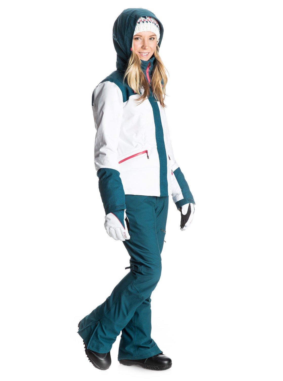 3 Flicker - Snow Jacket ERJTJ03042 Roxy 126ea6c75