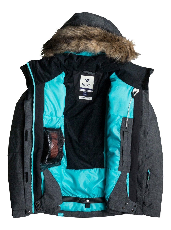 Veste Ski Textured Roxy Erjtj03057 Jet De Snow T8OwZ