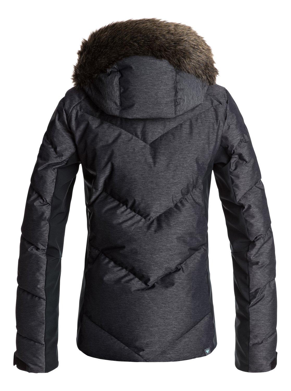 1 Roxy Pour De Noir Snowstorm Snow Veste Femme Erjtj03105 848wr
