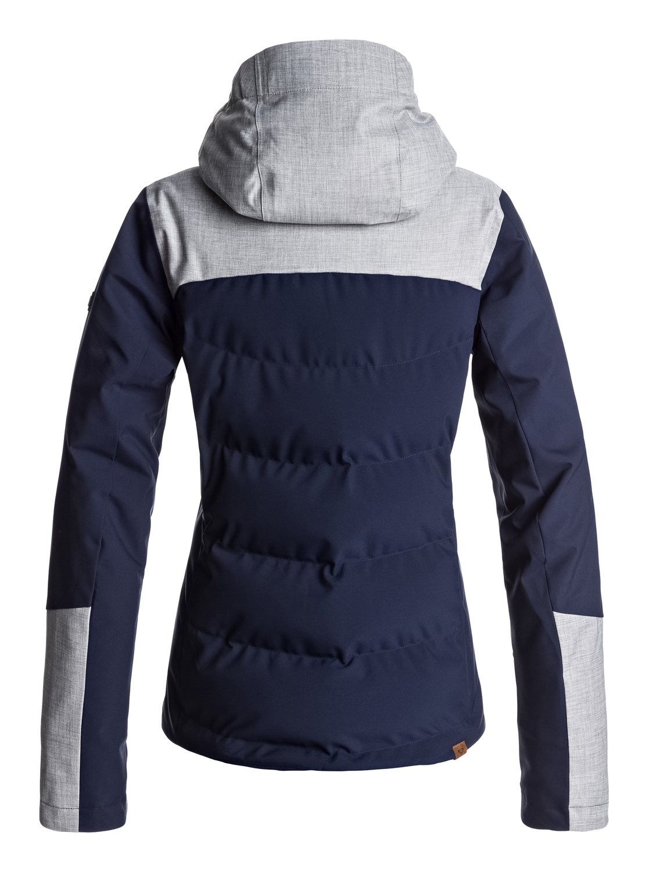 3cf2cd760cf1 1 Сноубордическая куртка Flicker Синий ERJTJ03109 Roxy