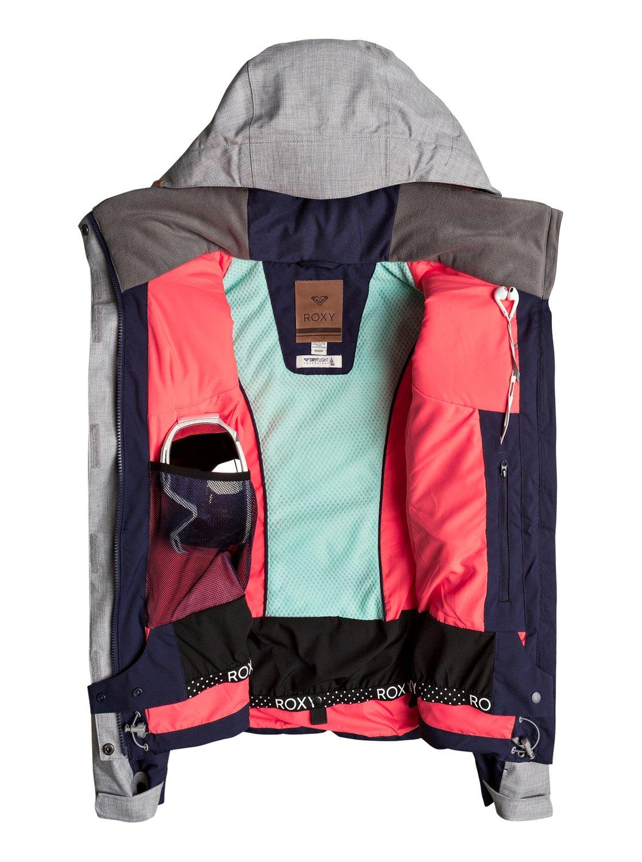 3bd3bb4b35a3 2 Сноубордическая куртка Flicker Синий ERJTJ03109 Roxy