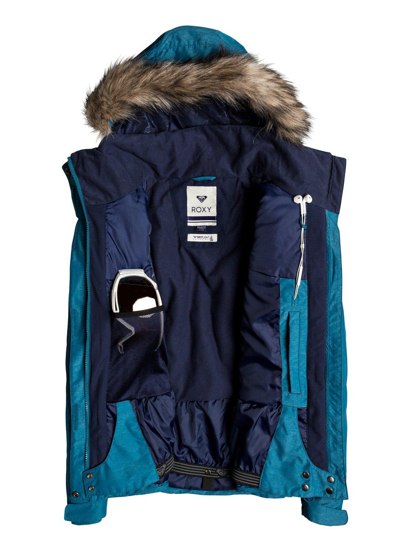 2 Jet Ski - Snow Jacke für Frauen Blau ERJTJ03131 Roxy 687b0e3a7f
