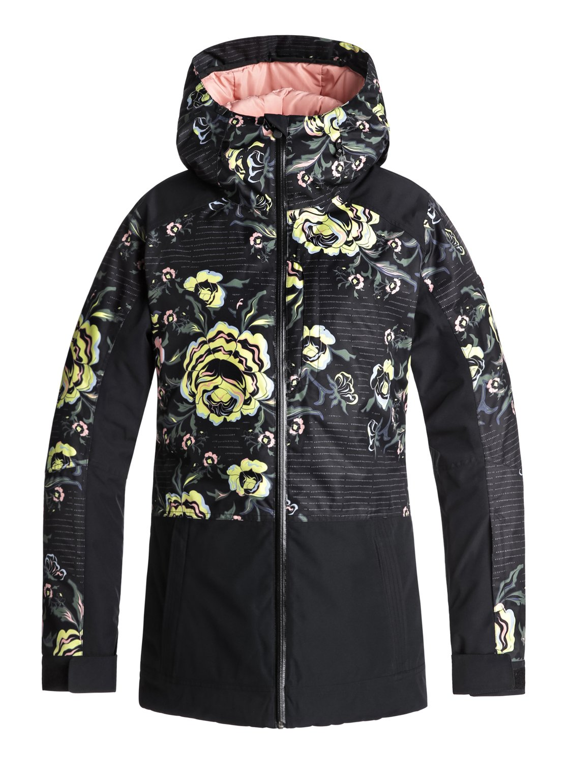0 Torah Bright Snowflake - Snow Jacket for Women Black ERJTJ03163 Roxy 92eb181e65