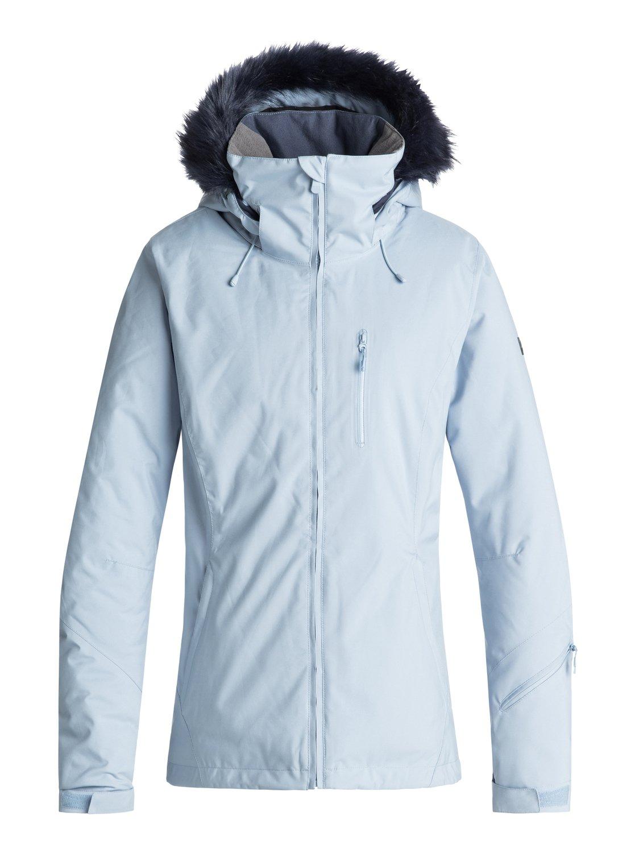 0 Down The Line - Snow Jacket for Women Blue ERJTJ03185 Roxy 2e99e0810