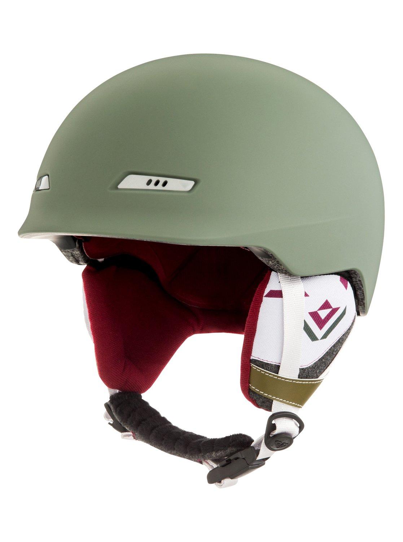557ac4b6a0 0 Angie SRT - Snowboard Ski Helmet Green ERJTL03034 Roxy