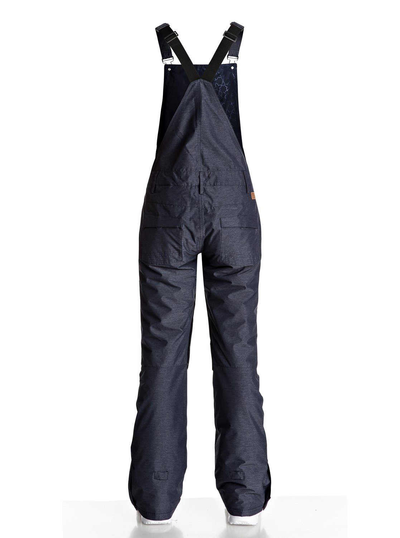 Pantalones para Roxy 1 Nieve Tirantes Non Mujer Stop Con Para ERJTP03042 EEPTqC