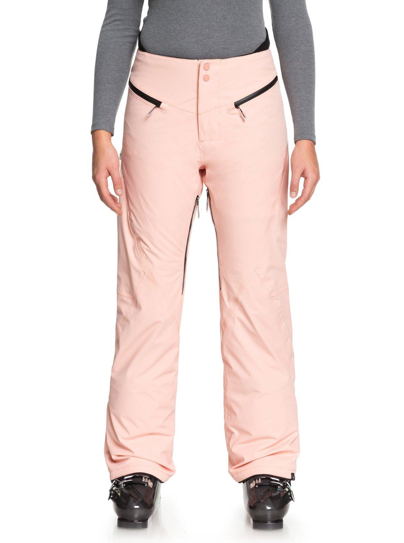 0 ROXY Premiere - Pantalon de snow pour Femme Rose ERJTP03068 Roxy 780c5b6c862
