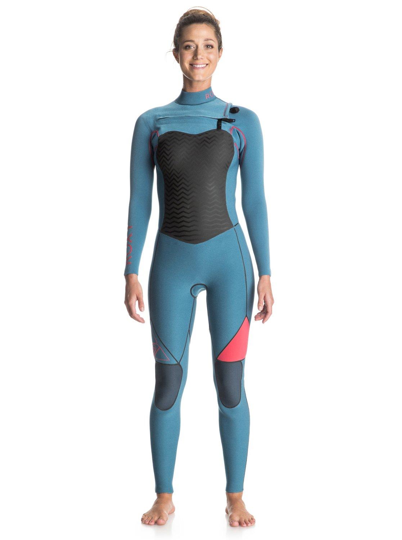68ca4267b3 0 Performance 3 2mm - Chest Zip Full Wetsuit Blue ERJW103002 Roxy