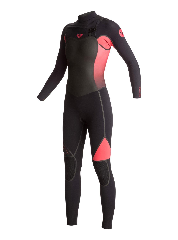 d045dfe62b 2 Syncro 3 2mm - Chest Zip Full Wetsuit ERJW103007 Roxy