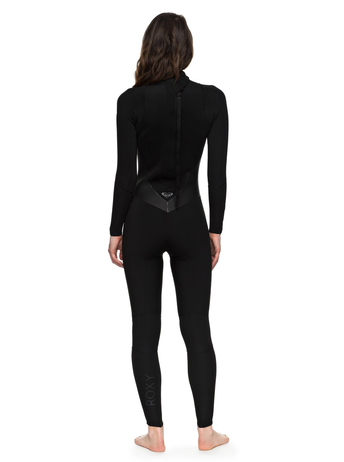 2aefca758c6 1 3 2mm Satin - Back Zip Wetsuit for Women Black ERJW103021 Roxy
