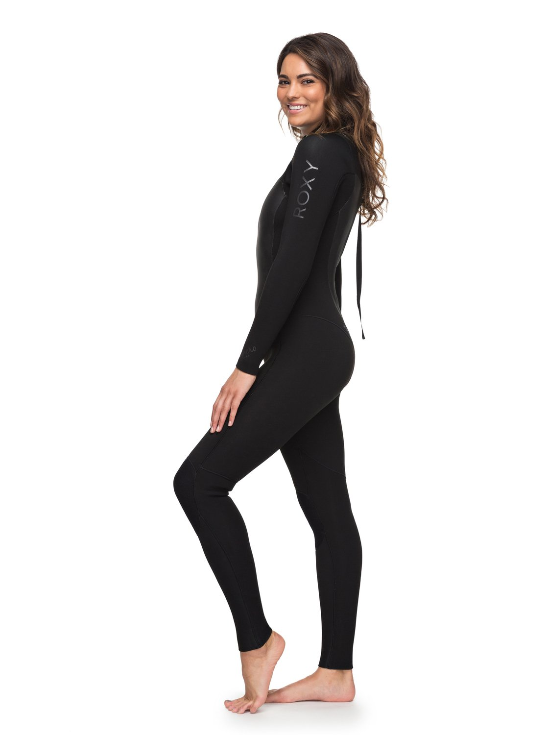 c060a15afb 1 5 4 3mm Syncro Series - Back Zip GBS Wetsuit for Women Black