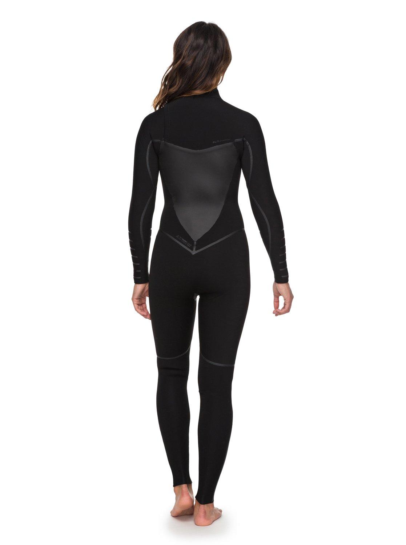864d0a0d65 2 4 3mm Syncro Plus - Chest Zip Wetsuit for Women Black ERJW103030 Roxy