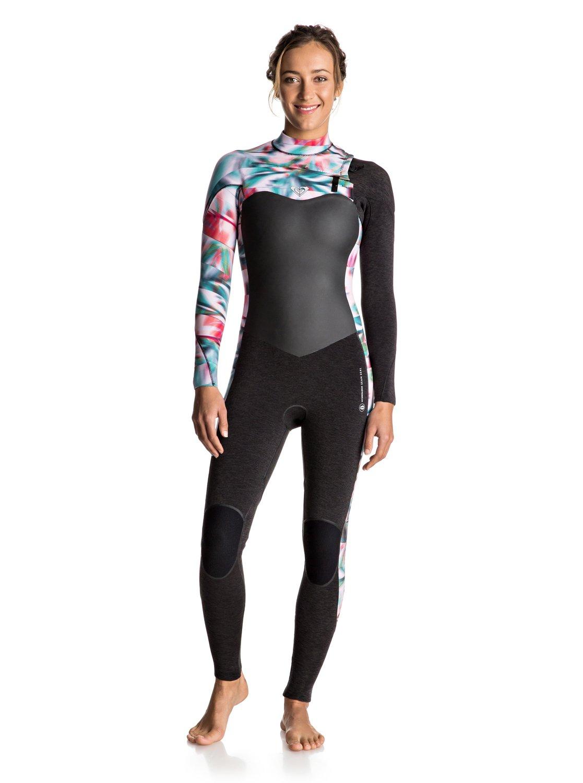 0 3 2mm Performance - Traje de surf con cremallera en el pecho para Mujer 8db2f39609a