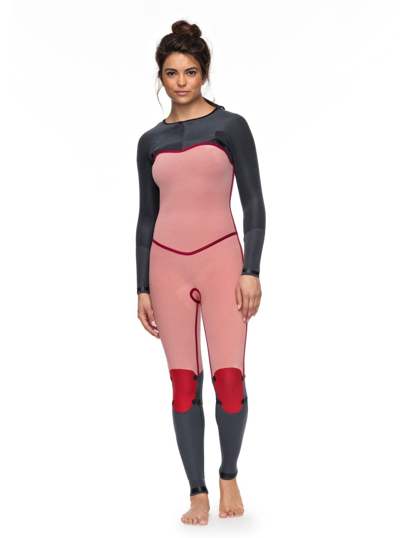 1 3 2mm POP Surf - Chest Zip Wetsuit for Women Black ERJW103036 Roxy 431c1c66ee1