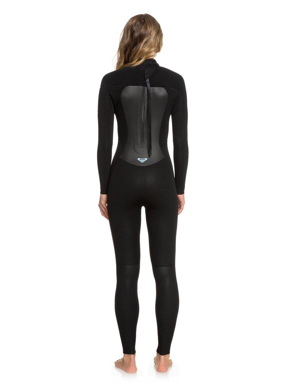 3137a348f1 6 3 2mm Prologue Back Zip Wetsuit Black ERJW103040 Roxy