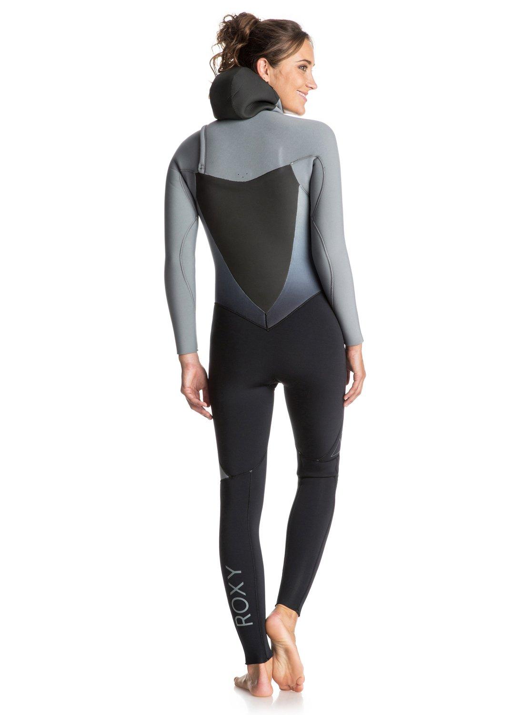 1 Syncro 5 4 3mm - Chest Zip Hooded Full Wetsuit ERJW203001 Roxy f47c2950b