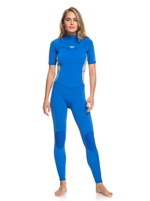 0 2mm Syncro Series - Short Sleeve Back Zip FLT Springsuit for Women  ERJW303001 Roxy fb5a3b8fd