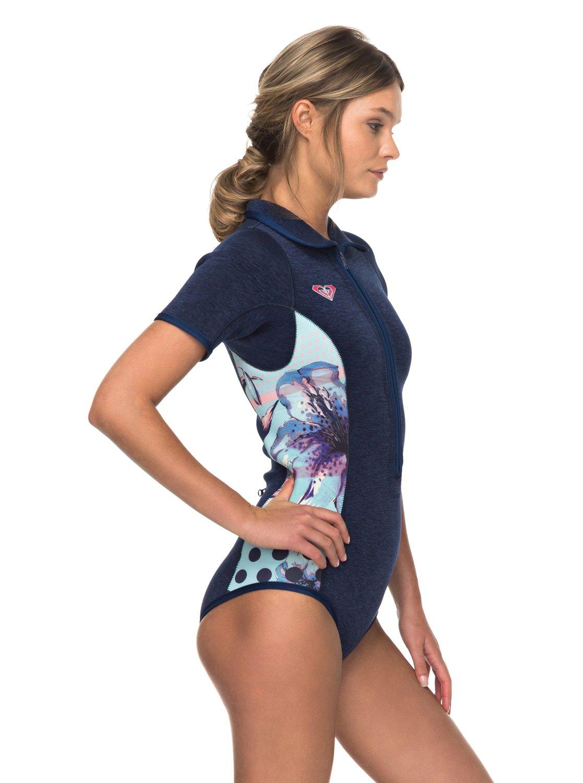 14c45325e8 1 2mm POP Surf - Short Sleeve Front Zip Springsuit for Women ERJW503008 Roxy