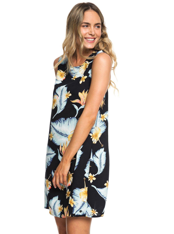 0 Harlem Vibes - Sleeveless Dress for Women Black ERJWD03296 Roxy 70efa8f8303