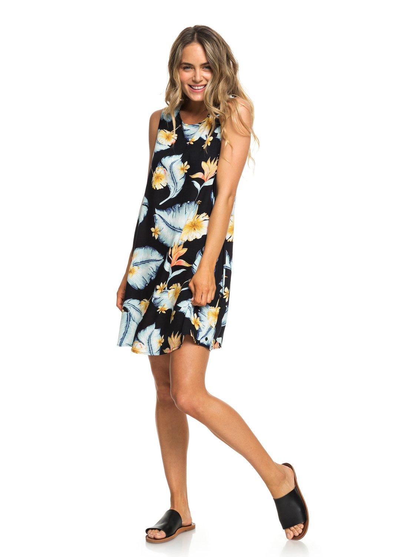 2 Harlem Vibes - Sleeveless Dress for Women Black ERJWD03296 Roxy d09b4baae78