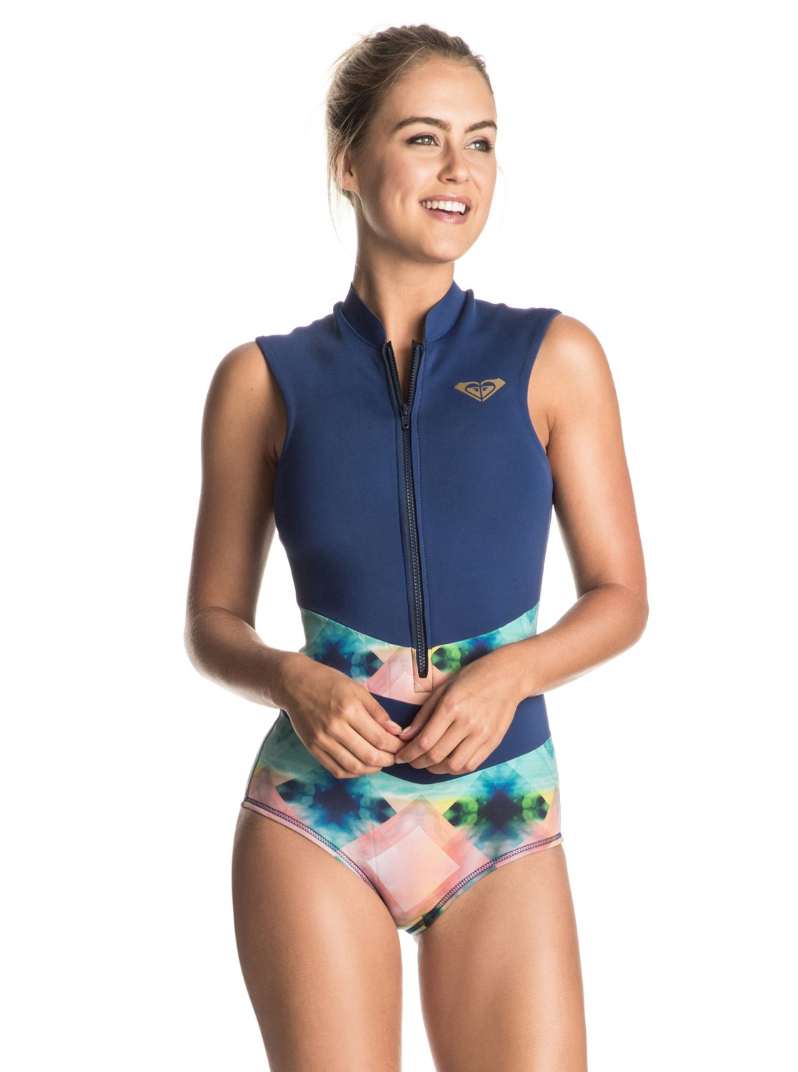 199d8694fb 0 Pop Surf - Sleeveless One-Piece Swimsuit ERJWR03118 Roxy
